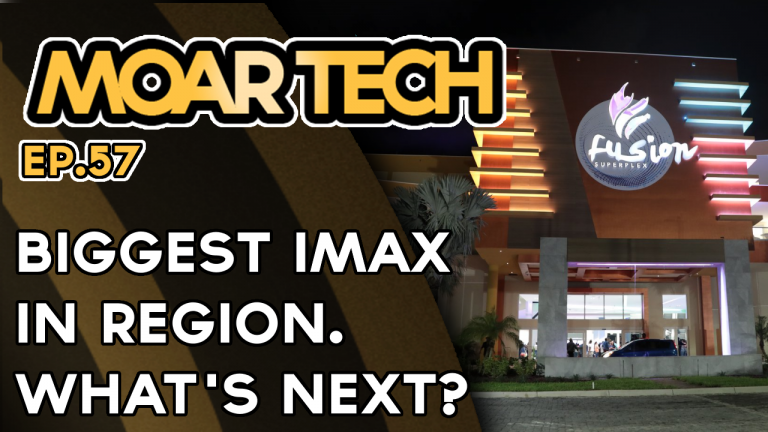 MOAR Tech 57: Largest IMAX in the region & what's to come w/ Dominic Richards